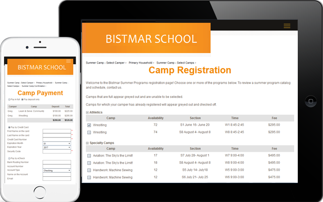 Raise your summer revenue with PCR Educator Summer Camp and Summer School software for independent schools.